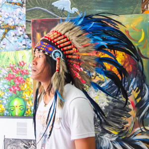 Buy Replica Small Blue Indian Chief Headdress - a Great Indian Headdress!